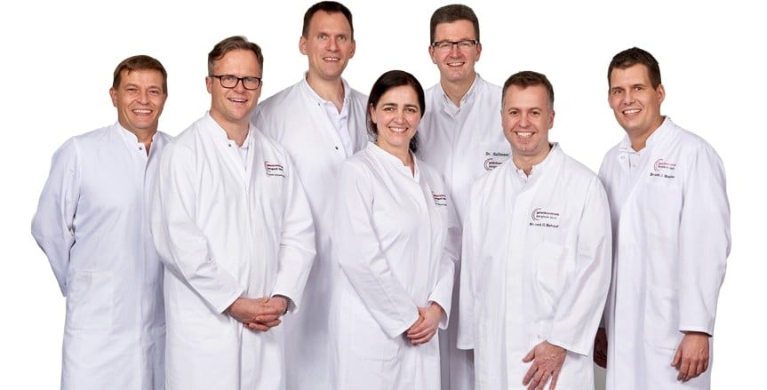 Das Team im Gelenkzentrum Bergisch Land: Orthopädische Diagnose, konservative und operative Therapie - alles aus einer Hand!