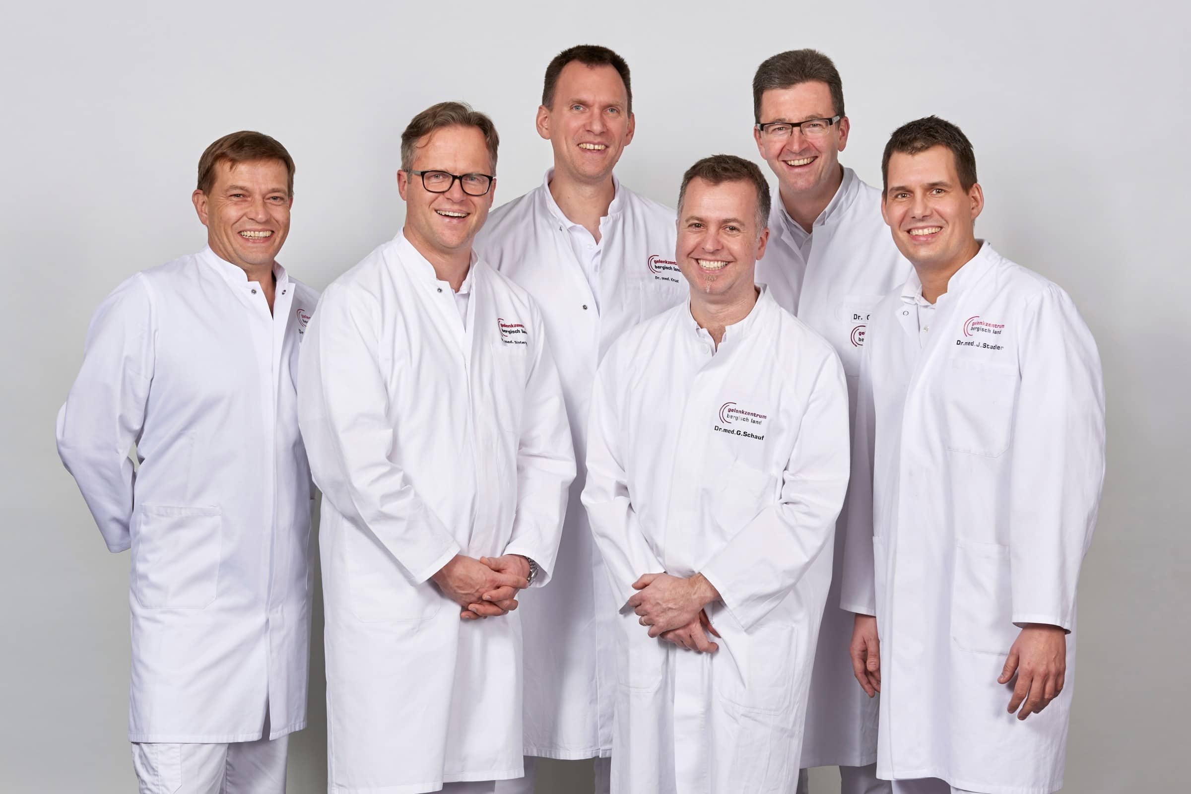 Das Ärzteteam des EndoProthetikZentrum der Maximalversorgung (EPZmax)