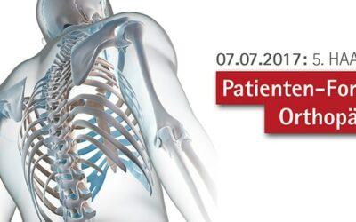 5. Haaner Patienten-Forum Orthopädie