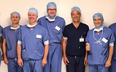 Dr. Quitmann Gast bei Dr. Lagast und Dr. van Overschelde in Ghent