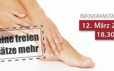 12.03.2018: Mit Hand und Fuß – Patientenveranstaltung