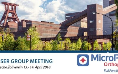 13-14.04.2018 MicroPort  Orthopedics – HIP USER GROUP MEETING