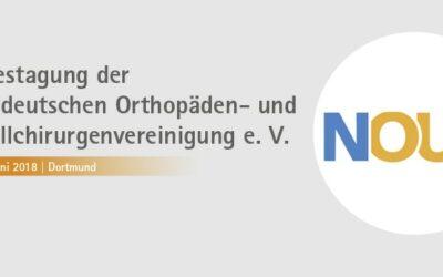 21.-23.06.2018 Jahrestagung der Norddeutschen Orthopäden- und Unfallchirurgenvereinigung e. V.