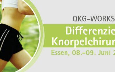 08.-09.06.2018 QKG-Workshop: Differenzierte Knorpelchirurgie
