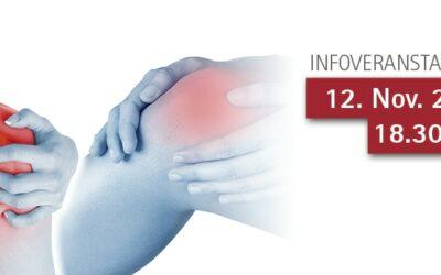 12.11.2018: Schulter und Knie – Patientenveranstaltung