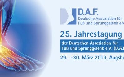 25. Jahrestagung – D.A.F. Kongress