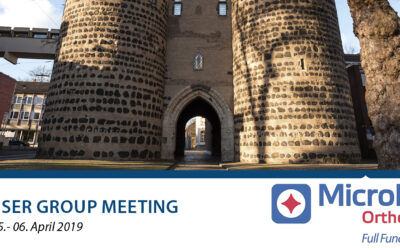 05.-06.04.2019 MicroPort  Orthopedics – USER GROUP MEETING