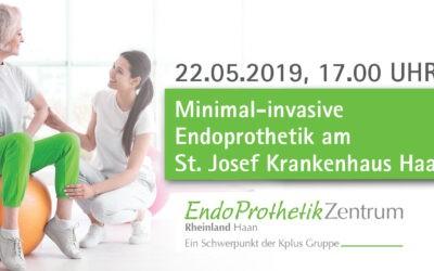 22.05.2019: Minimal-invasive Endoprothetik – Patientenveranstaltung