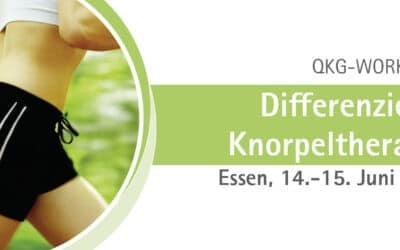 14.-15.06.2019 QKG-Workshop: Differenzierte Knorpeltherapie