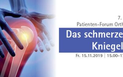 15.11.2019: 7. Haaner Patientenforum Orthopädie