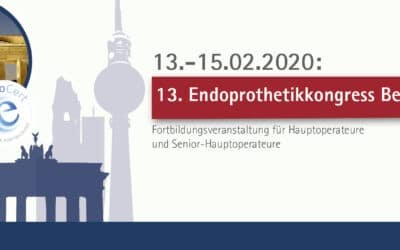 13.-15.02.2020:  13. Endoprothetikkongress Berlin