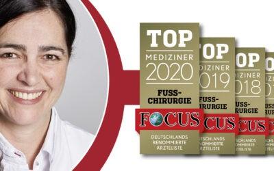 Top Mediziner 2020 in Fußchirugie
