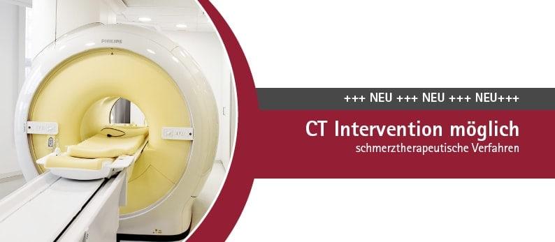 Ab jetzt CT Intervention möglich