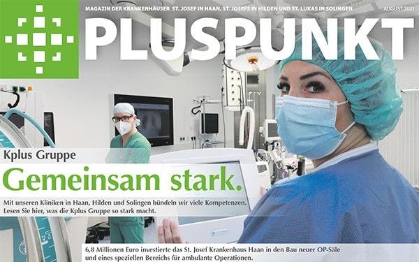 Pluspunkt Magazin 08/2021